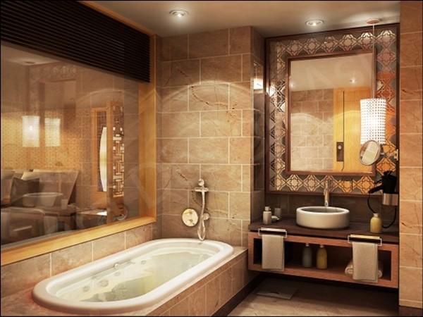 banheiro moderno e luxuoso 2