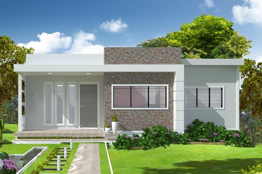 Casa salvador 2 quartos sendo 1 suite plantas de casas for Casa piano cotizacion