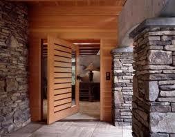 Entrada Com Elegancia Portas Pivotantes Plantas De Casas