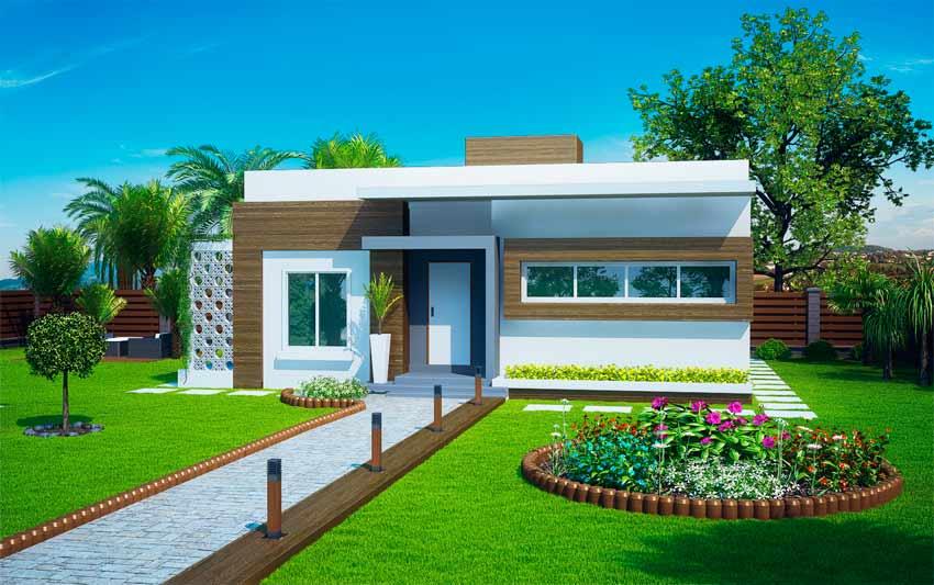 Planta de casa guarulhos casa pequena com 2 quartos for Casas modernas de 80 metros