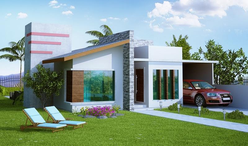 Casa porto alegre 3 quartos suite closet 2 carros for Fachadas de casas modernas de 2 quartos