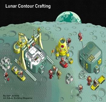 lunar contour crafting