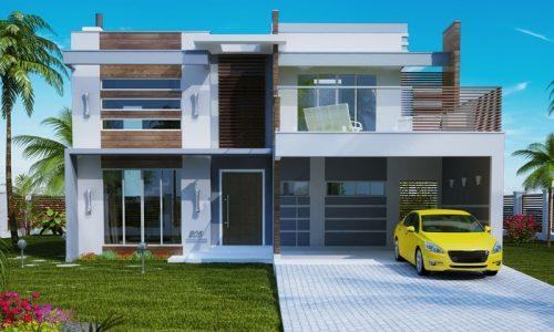 Plantas de casas com rea entre 201m e 300m for Eumaster casa moderna 8x8