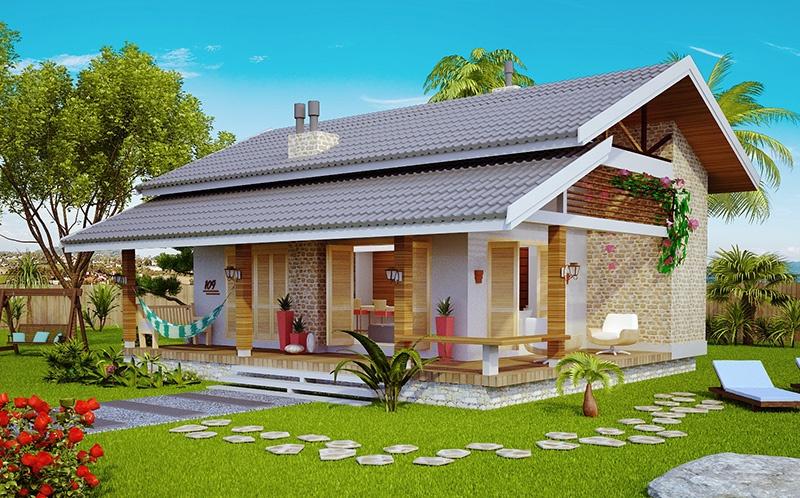 Casa niteroi modelo loft para praia ou campo for Modelo de casa pequena para construir