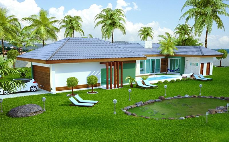 Planta de casa campo grande 1 su te 2 demi su tes e for Modelos de casas de campo de una planta
