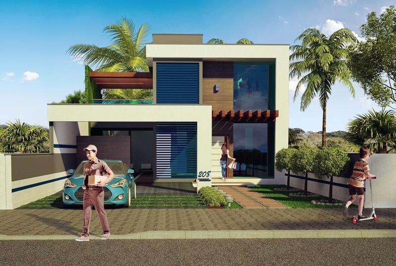 Casa florianopolis lindo sobrado com 2 quartos suite for Casa moderna 150 m2