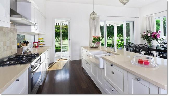 cozinha americana, plantas de casas