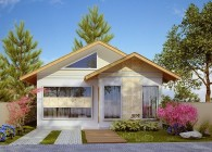 309 - plantas de casas - fachadas - front
