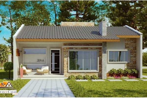 Casa ribeirao preto com 2 quartos e area de 70m2 for Casas modernas simples