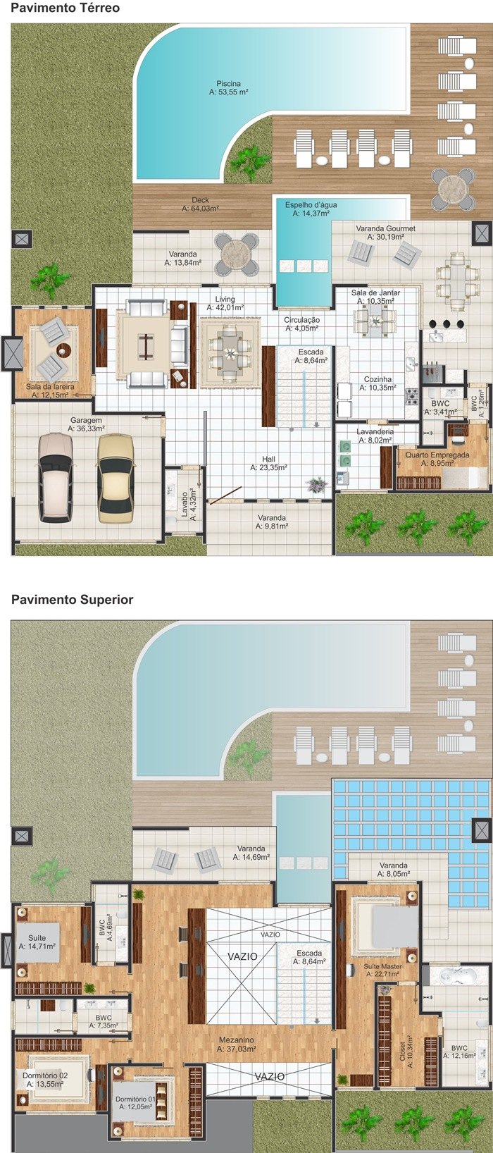 Sobrado Olinda Casa Moderna Com 4 Quartos Sendo 2 Suites