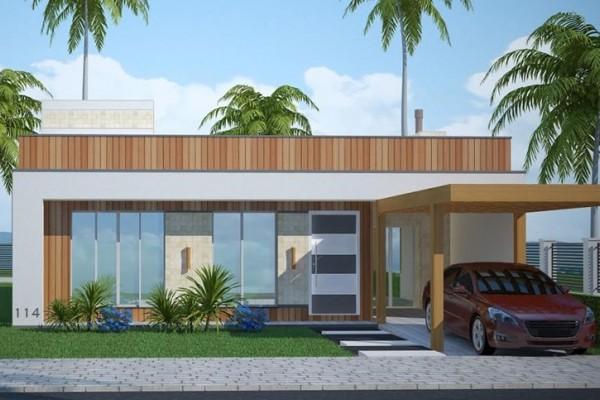 Casa Anapolis Com 4 Quartos Para Terreno Com 12m De