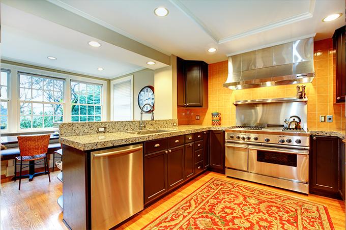 Guia para projeto de uma cozinha americana plantas de casas - Casa americana in legno ...