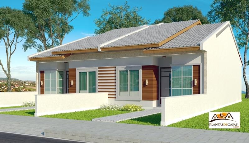 Planta de casa feira de santana casa pequena para terreno for Modelos jardines para casas pequenas