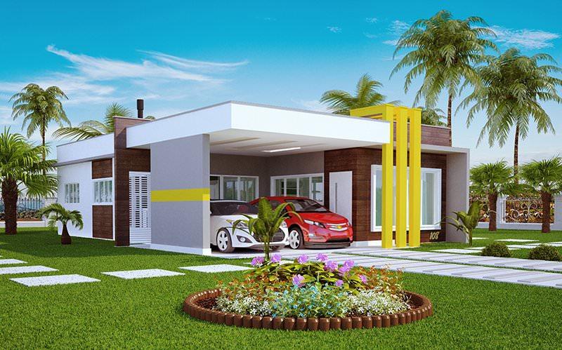 Projeto De Casa Teresina Linda Casa T 233 Rrea Com 1 Su 237 Te E