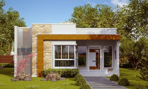 Projetos minha casa minha vida for Casa moderna 90m2