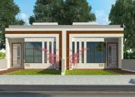Casas geminadas - Plantas de casas - 312