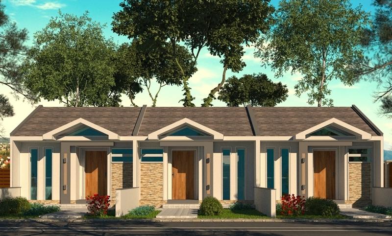 Planta de casa maring projeto de casa individual ou for Fotos de casas modernas terreas