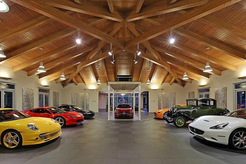 casa de luxo com garagem especial