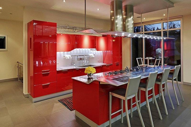 cozinha projetada pelo arquiteto Snaidero Ferrani