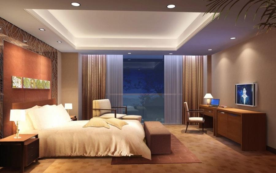 iluminaçao nos quartos