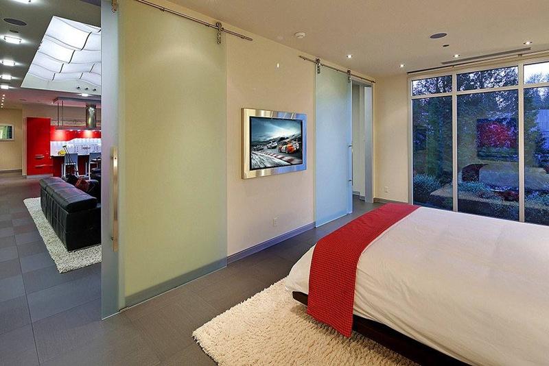 quarto especial garagem de luxo