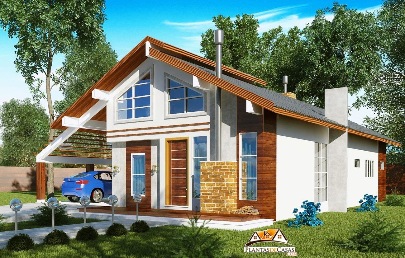casa de campo fachada dir projetos de casas #0596C6 1300 829