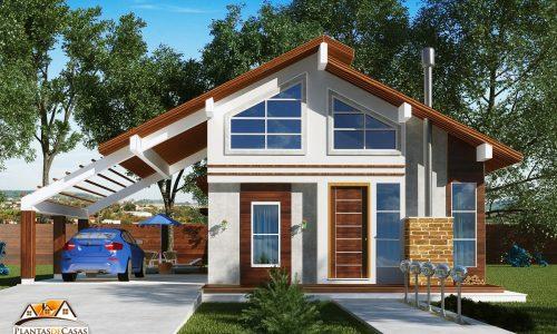 Fachadas de casas com projetos para construir - Construir casa de campo ...