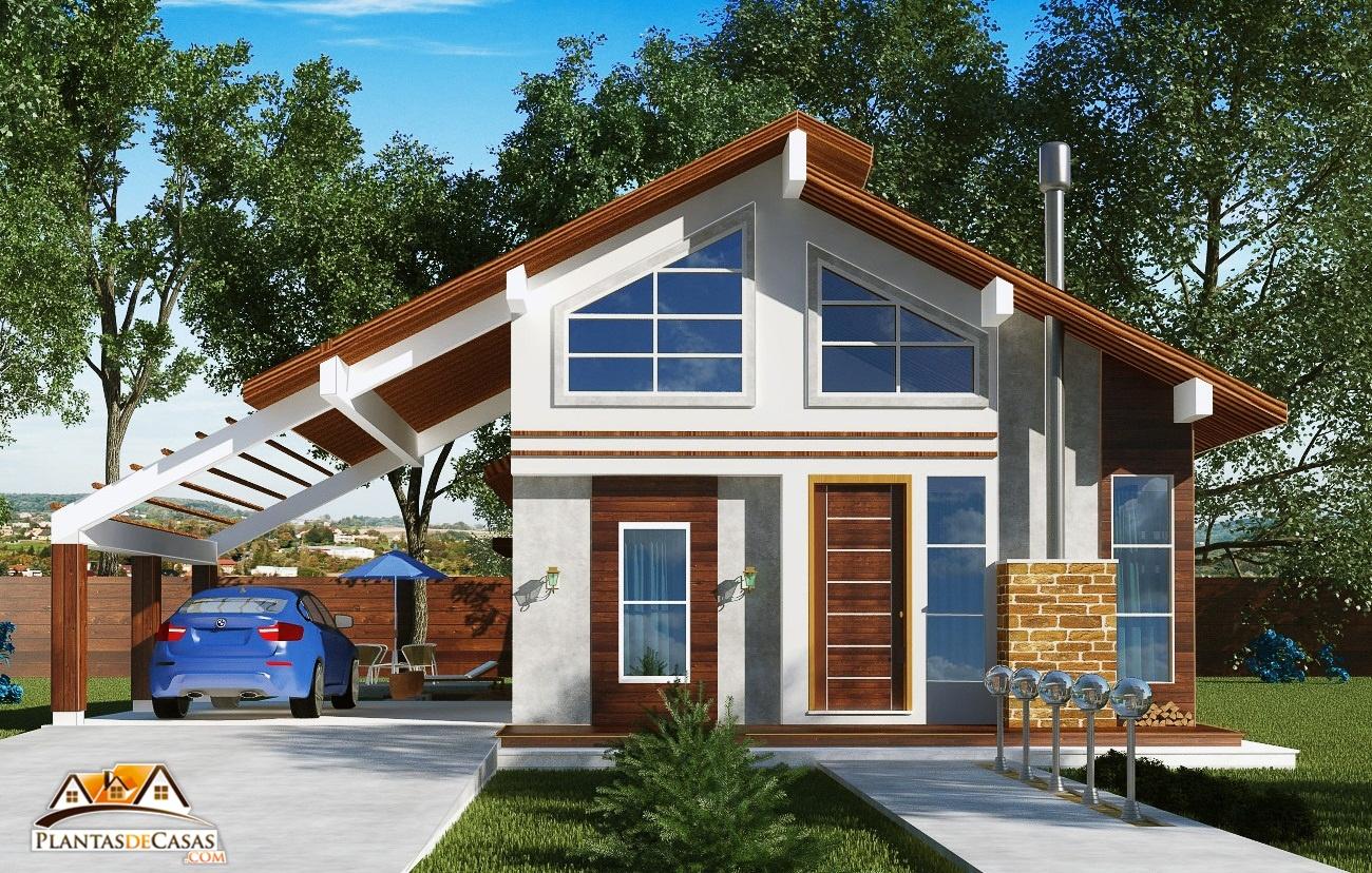 Casa de campo goi s com 3 quartos e espa o gourmet com for Modelos de casas de campo de una planta