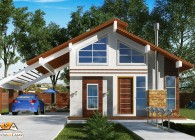 Planta de Casa de campo - plantas de casas - 405