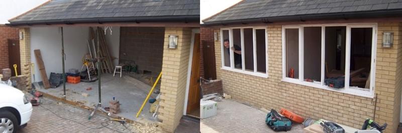garagem 1 antes e depois