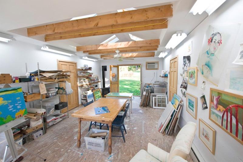 garagem atelier de pintura