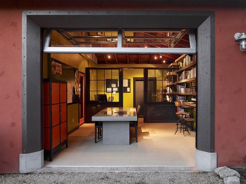 garagem escritorio