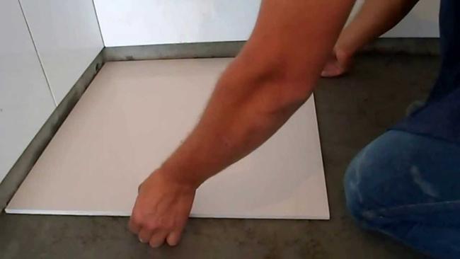 piso tamanho grande colocação