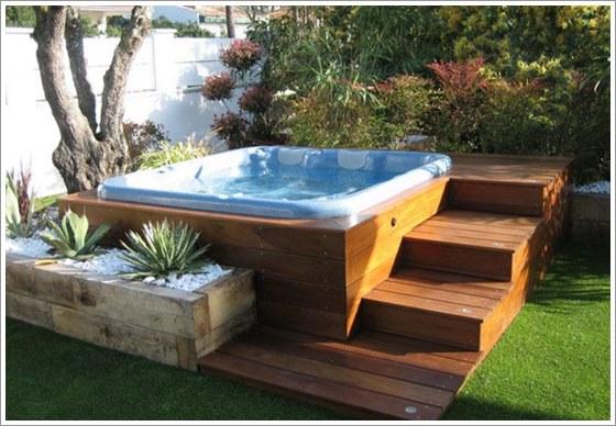 50 modelos piscina pequena para inspirar sua reforma ou for Modelos de reposeras para piscinas