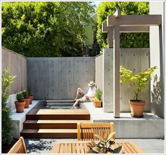 Small Minimalist Design Garden 50 Modelos Piscina Pequena Para Inspirar Sua Reforma Ou Constru O