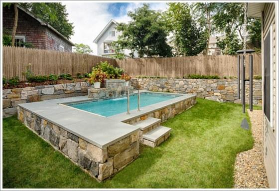 50 modelos piscina pequena para inspirar sua reforma ou for K sol piscinas