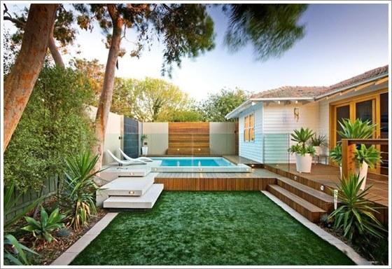 50 modelos piscina pequena para inspirar sua reforma ou for Fotos de piscinas hermosas