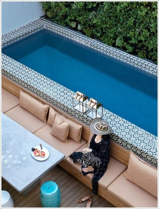 50 modelos piscina pequena para inspirar sua reforma ou for Modelos de piscinas para fincas