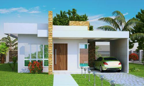Plantas de casas pequenas - Modelos de casas de planta baja ...