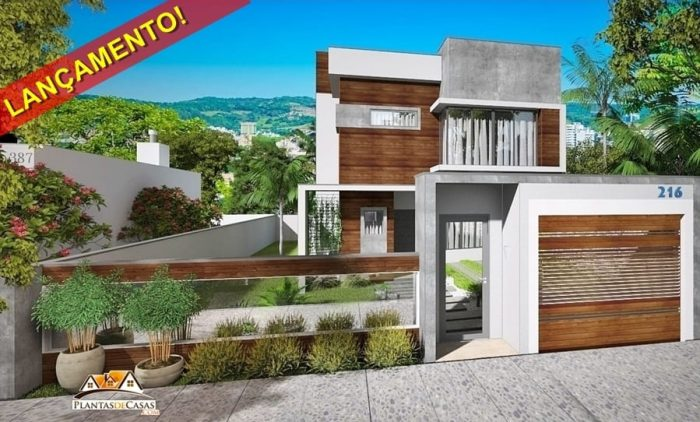 216 -LANÇAMENTO! - fachada de casa - esq. 900c