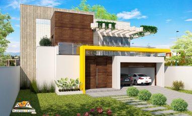 plantas de casas modernas - sobrado - 217 esq-min-min