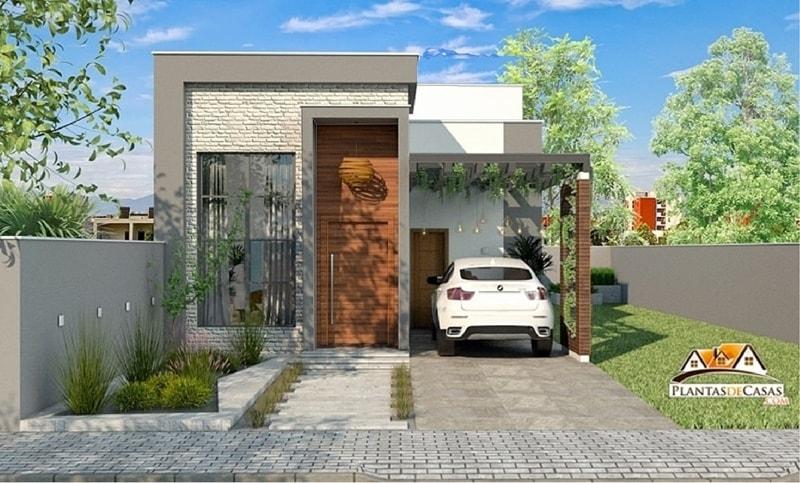 Casa rio verde planta moderna com 3 quartos sendo 1 su te for Casa moderna 2 andares 3 quartos