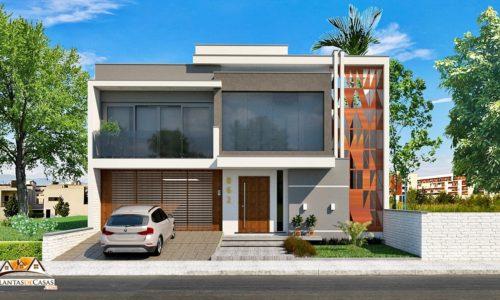 fachadas-de-casas-modelo-de-planta-frontal