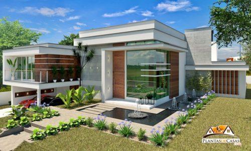 projetos-de-casas-casa-Gramado-fachada-de-casa-moderna